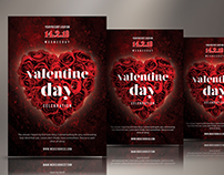 Exclusive Valentine Day Flyer