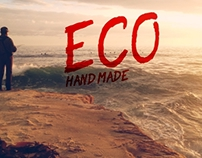 ECO HAND MADE (BRUSH TYPEFACE)