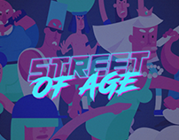 Street of Age mobile game
