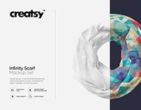 Infinity Scarf Mockup Set