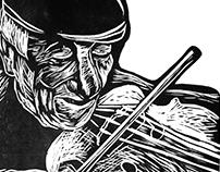 The Fiddler of Dooney # gravura caseira