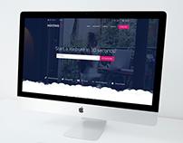 Hosting Site / Free PSD