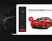 LuxeCar - Luxury car rentals in Dubai