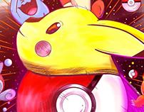 Pokémon ilustração digital