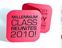 High School 10 Year Reunion Invites