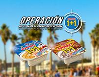 Campaña Digital Operación 1+1 Fanspage