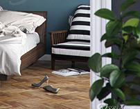 Trandenser Bedroom