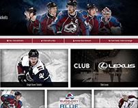 Colorado Avalanche Website