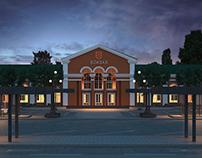 Reconstruction of Bilya Tserkva Railway Station