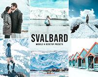 Free Svalbard Mobile & Desktop Lightroom Presets