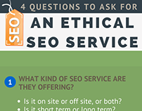 Ethical SEO Services Infographic