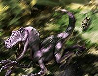The Brave Lizard