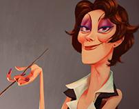 Portrait 02, Aunt Polly