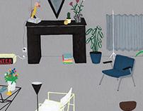 Private commission - Interior Illustration