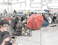 Drawing Occupy Central