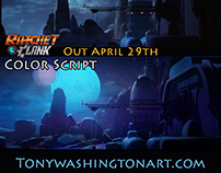 Ratchet and Clank Color Script 1