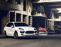 Porsche Cayenne brand photoshoot