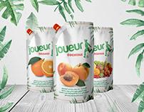 JOUEUR - Juice Bag Packaging