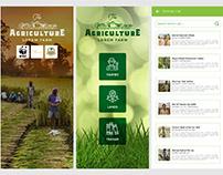 Agriculture Farmer Mobile App UI Design