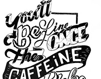 You'll be fine once the caffeine kicks in