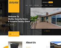 security doors & windows factory website