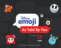Adobe x Disney Emoji As Told By You!