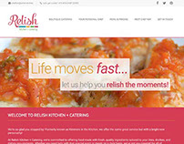 Relish Kitchen + Catering Website