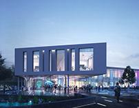 Volda Media School Architectural Visualization