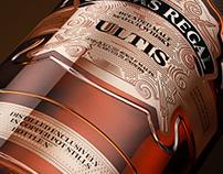 3d Bottle Chivas Regal Ultis