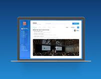 Galaxy - Visitor Management Dashboard UI/UX Design