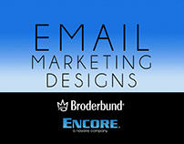 Broderbund/Encore - Email Marketing Designs