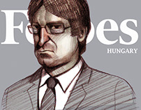 Portraits for the Forbes Hungary | Jan 2016