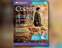 Counselor Magazine Jan 14 Layout & Design