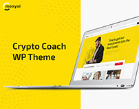 Monyxi | Cryptocurrency Trading Coach WordPress Theme