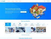 Rewilla Landing page