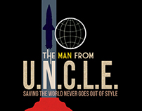 "Cartel alternativo para  ""The Man From U.N.C.L.E."""