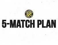 Columbu Crew SC: 5-Match Plan