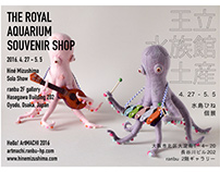 Solo Show Card: The Royal Aquarium Souvenir Shop