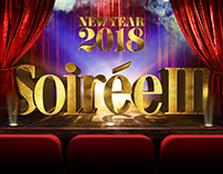 Poster Soiree New year 2018