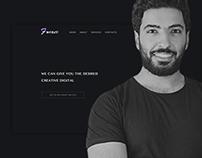 Black style web design
