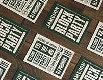 Identity for Jameson Block Party