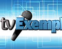 Vinheta TV Exemplo