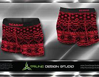 Ganar Gear Ladies Compression Shorts