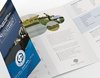 4 page folded brochure