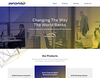 Banner design for INNER PAGE in infropro website