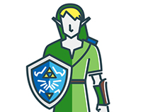 Flat The Legend of Zelda
