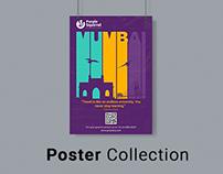 Purple Squirrel Eduventure vector poster collection