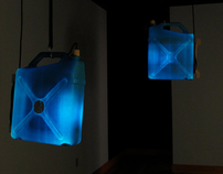 ReCan Lamps: Found Object Lighting Solution