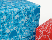 Christmas Wrapping Paper 2009