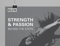 Strength & Passion Behind the Steps Poster